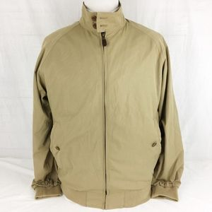 Orvis Mens Jacket Med Zip-Front Plaid-Lined